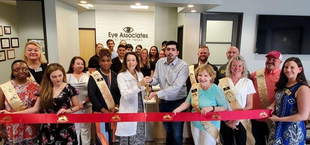 Ribbon Cutting San Antonio Eye Associates of South Texas 15650 Classen Rd
